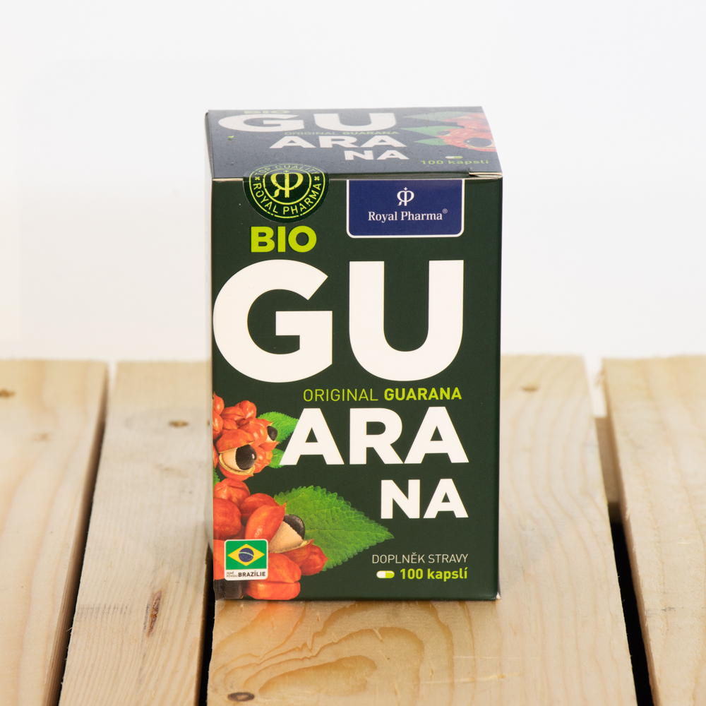Guarana Royal Pharma BIO 100 kapslí